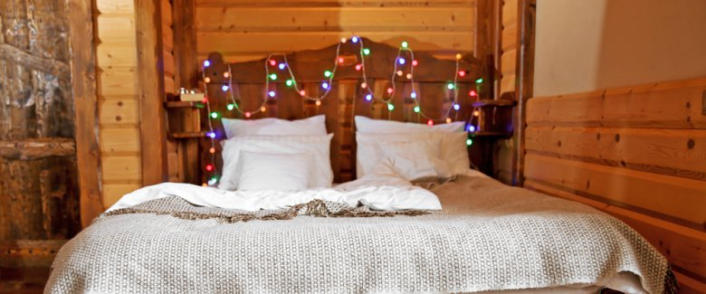 Decorare la stanza a natale for Decorare una stanza da letto